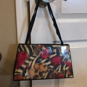 Angela Francine Floral Fruit Hand Bag